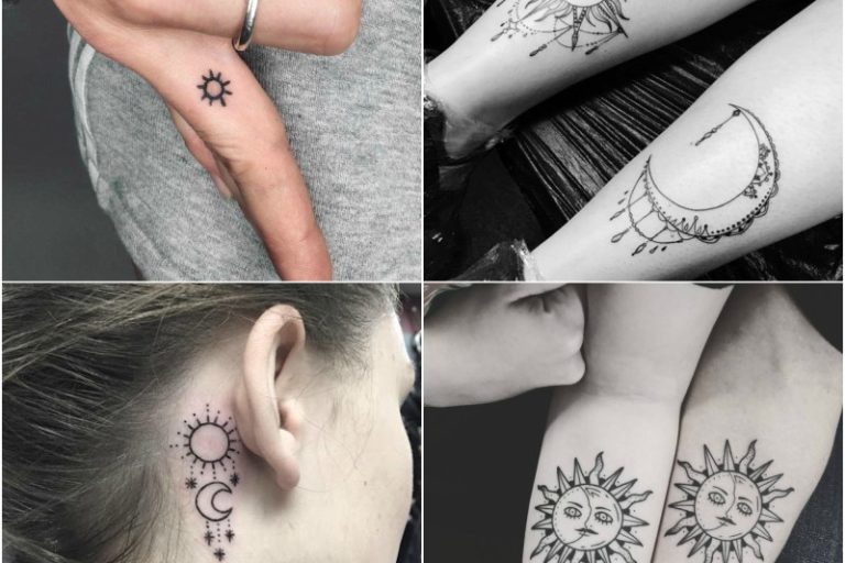 10 Beautiful Sun Tattoo Designs