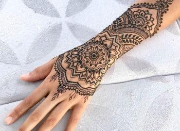 10 Beautiful Henna Tattoo Designs