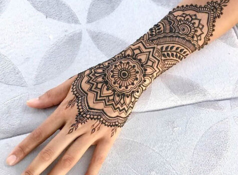 10 Beautiful Henna Tattoo Designs