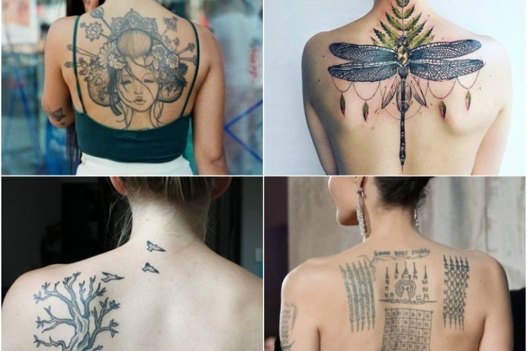 10 Attractive Back Tattoo Designs
