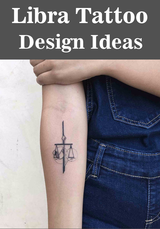Libra Tattoo Design Ideas