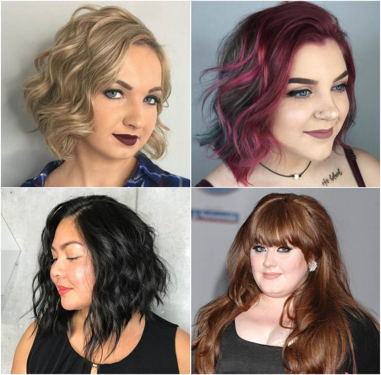Hairstyles For Fat Faced Women Top Beauty Magazines