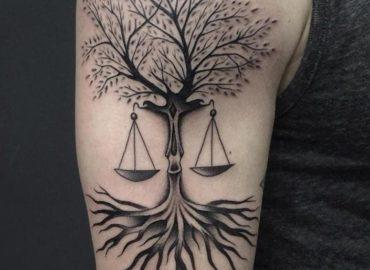 10 Best Libra Tattoo Design Ideas