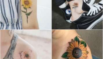 10 Best Sunflower Tattoo Ideas