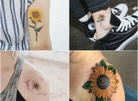 10 Best Sunflower Tattoo Ideas