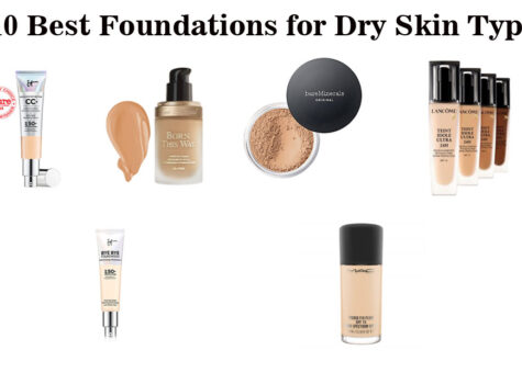 10 Best Foundations for Dry Skin Types