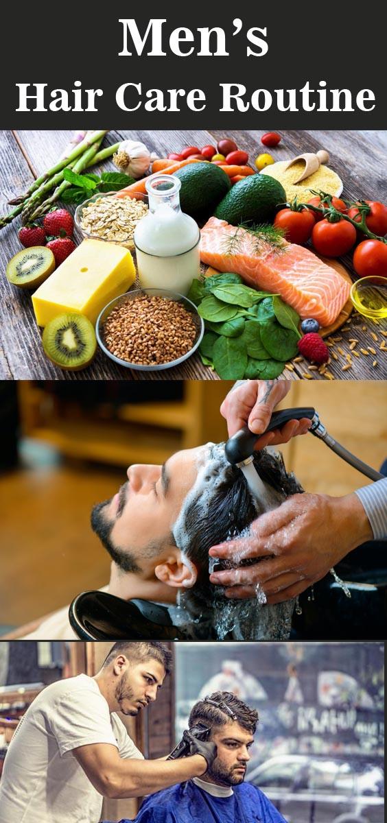 Men's Hair Care Routine