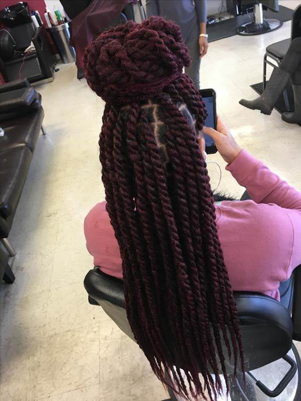 Marley Twist Hairstyle