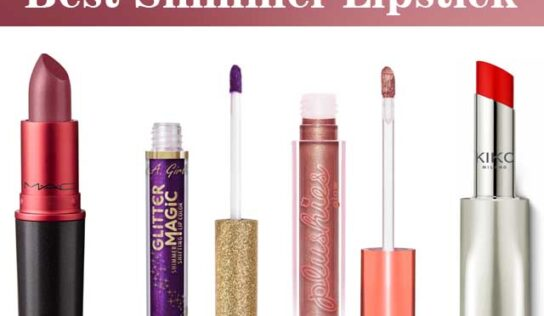 10 Top Shimmer Lipsticks to be The Center of Any Party