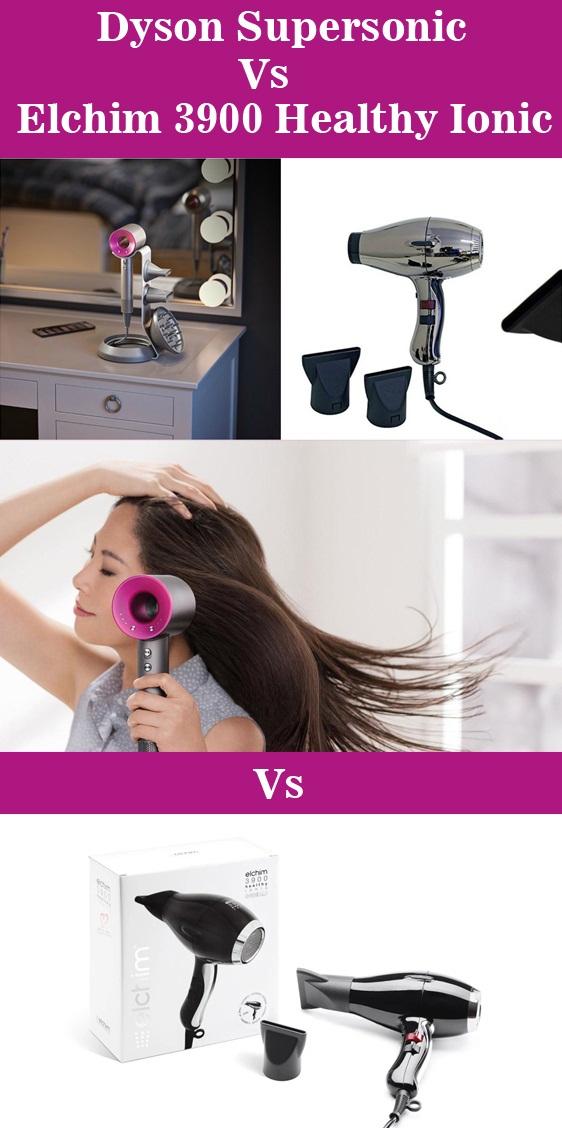 Dyson Supersonic Vs Elchim 3900 Healthy Ionic Hair Dryer