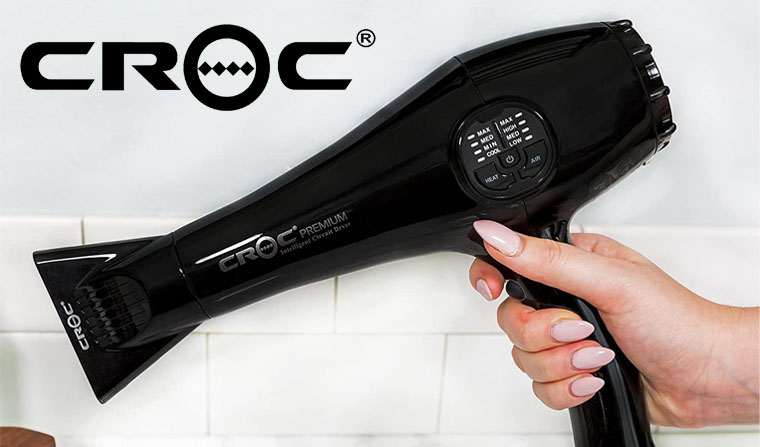 Croc Hybrid Hair Dryer