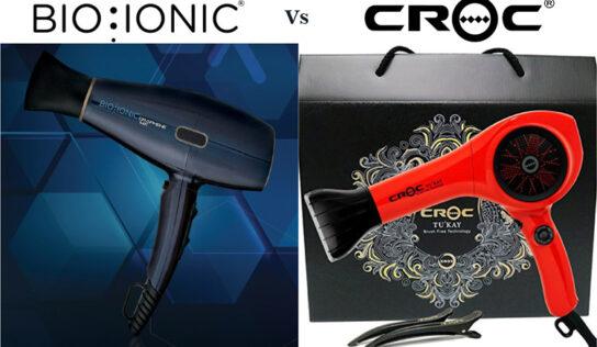BIO IONIC Graphene MX Vs Croc Hybrid Hair Dryer – Choose The Best One
