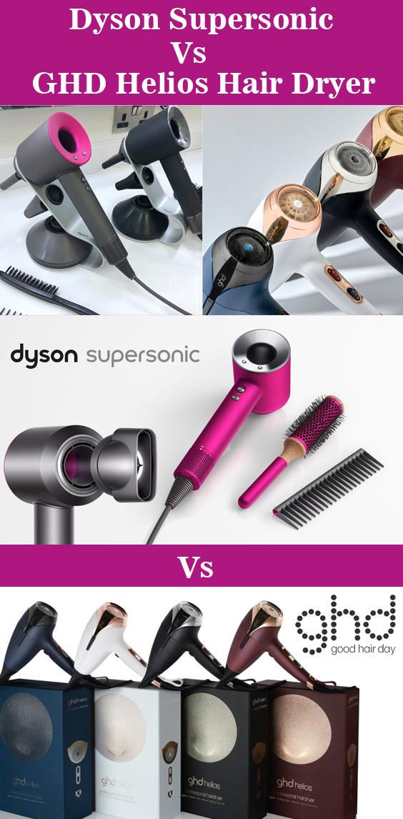 Dyson Supersonic VS GHD Helios Hair Dryer
