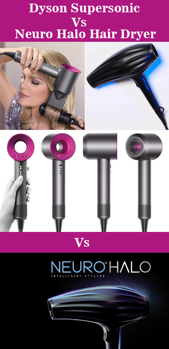 Dyson Supersonic Vs Paul Mitchell Neuro Halo Hair Dryer