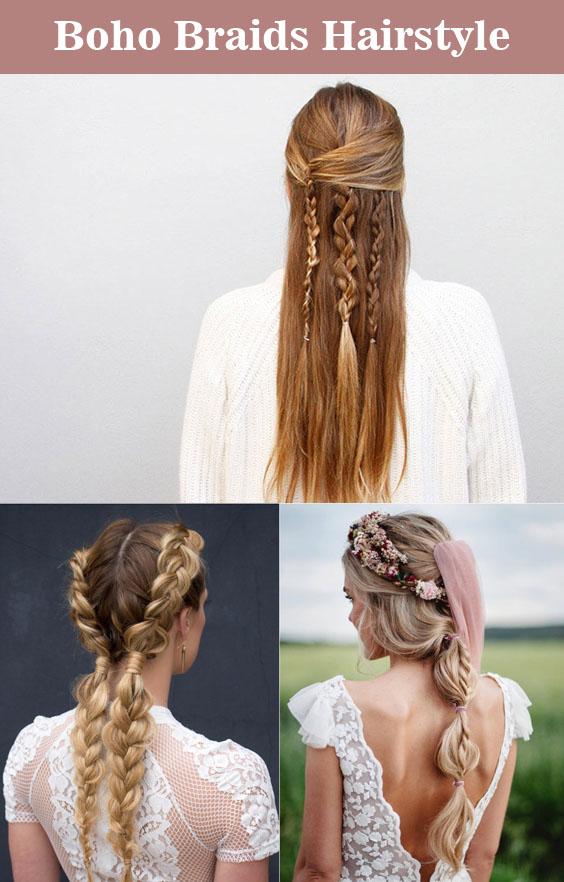 Top 10 Boho Braids Hairstyle Ideas