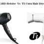 GHD Heloise Vs T3 Cura Hair Dryer