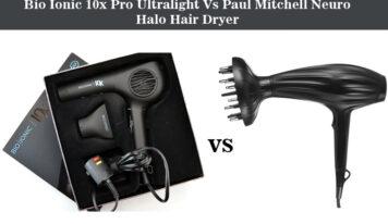 Bio Ionic 10x Pro Ultralight Vs Paul Mitchell Neuro Halo Hair Dryer – Choose The Best One