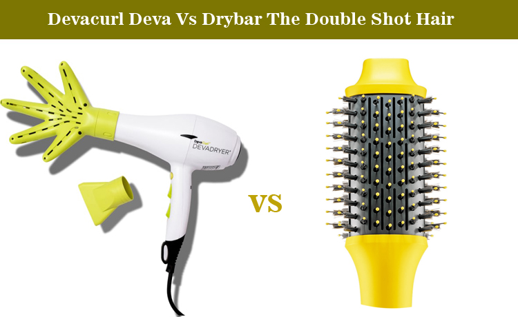 Devacurl Deva Vs Drybar The Double Shot Hair Dryer