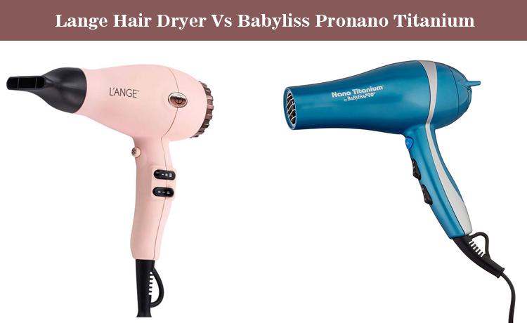 L'ange Triomphe Hair Dryer Vs BaBylissPro Nano Titanium
