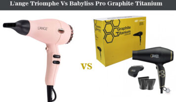 L'ange Triomphe Vs Babyliss Pro Graphite Titanium Hair Dryer – Choose The Best One