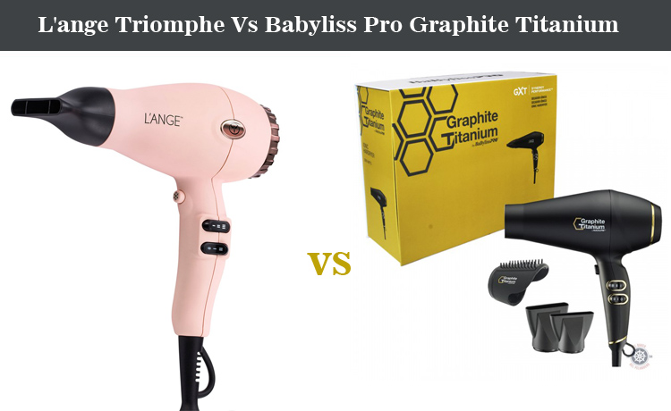 L'ange Triomphe Vs Babyliss Pro Graphite Titanium Hair Dryer