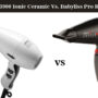 Elchim 3900 Ionic Ceramic Vs BaBylissPRO Rapido Hair Dryer
