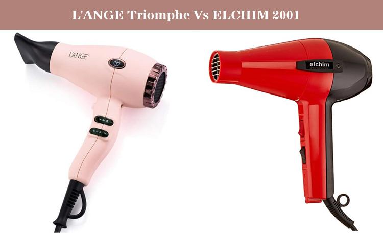 L'ANGE Triomphe Vs ELCHIM 2001 Classic Hair Dryer