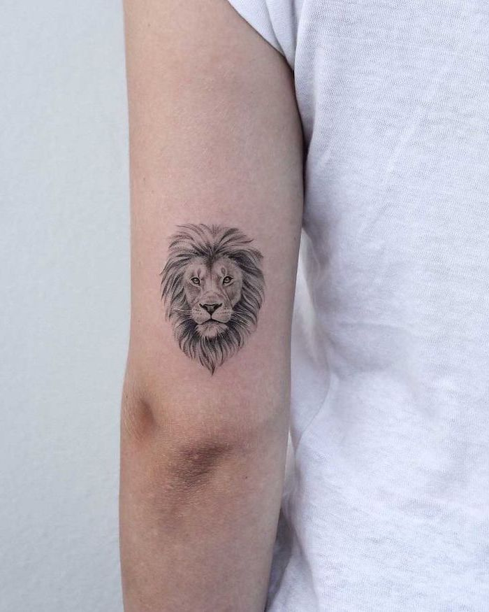 Lion Tattoos for Boys and Girls
