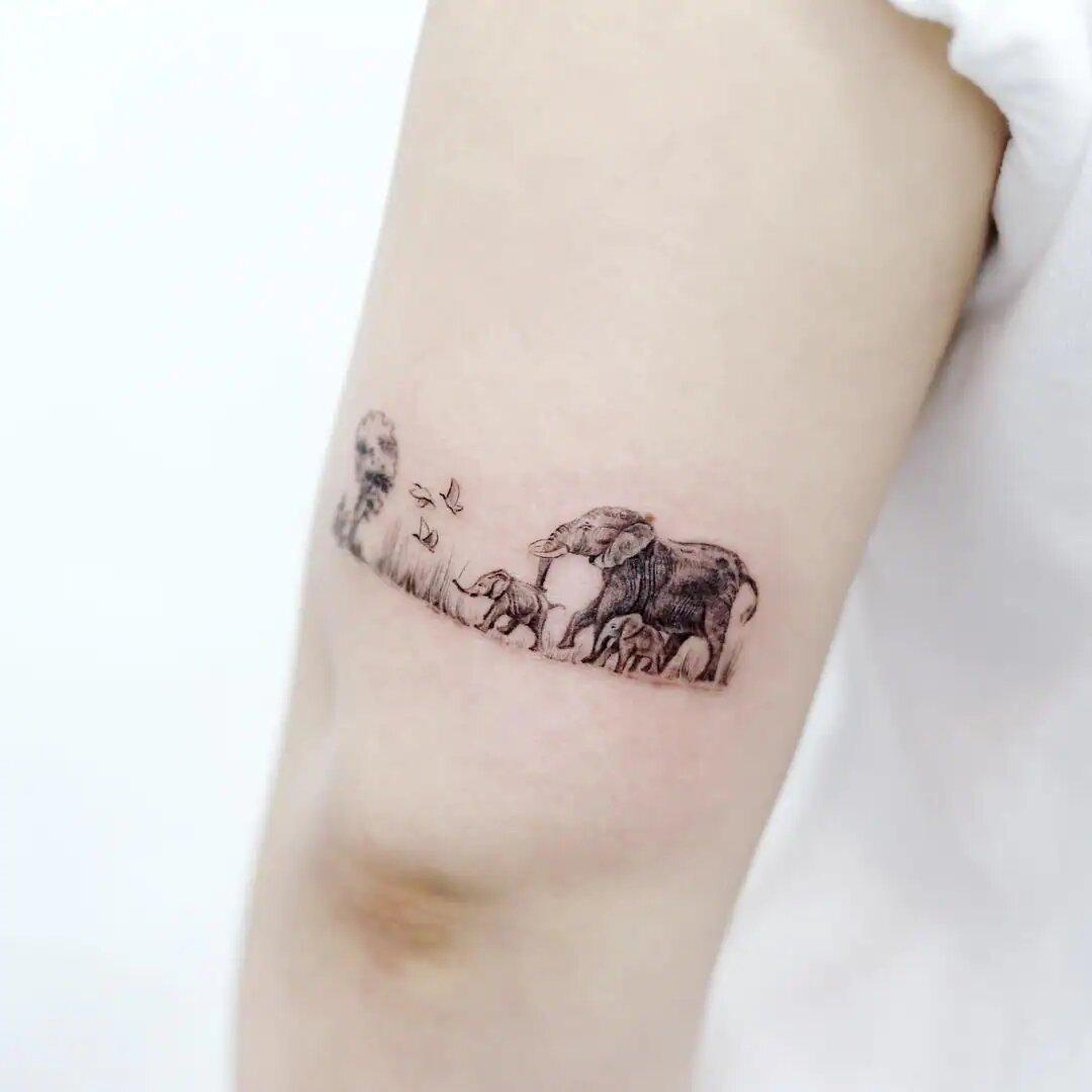 Elephant Tattoo Ideas
