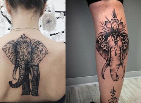 15 Inspirational Elephant Tattoo Ideas