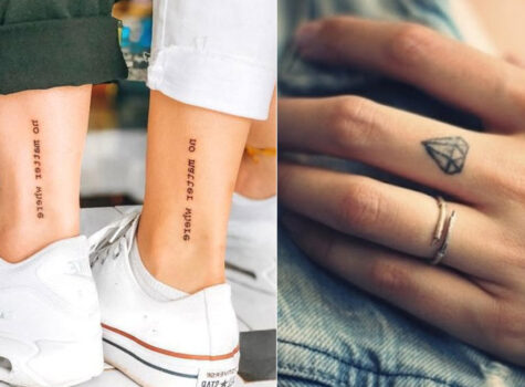 15 Best Small and Simple Tattoos for Boys and Girls