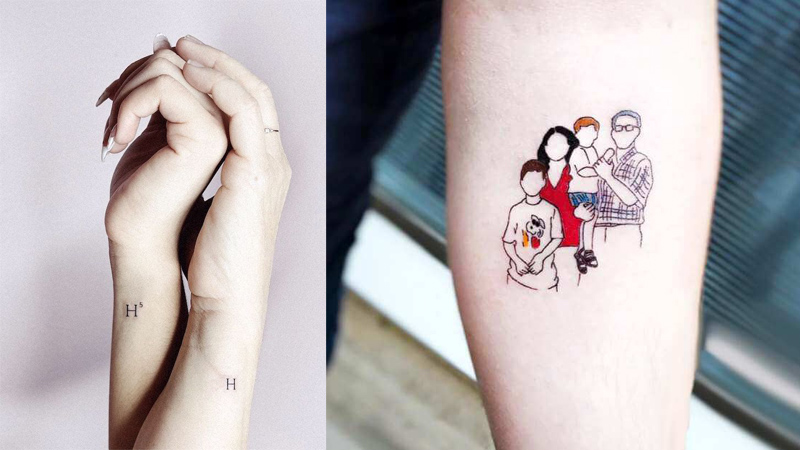 Meaningful family tattoos