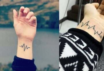 15 Heartbeat tattoos you will fall in love with over and over
