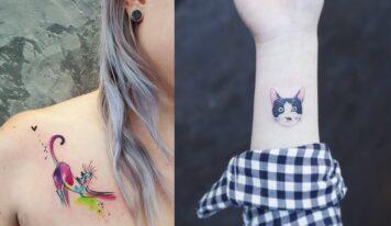 14 Cat Tattoo Design Ideas For Cat Lovers