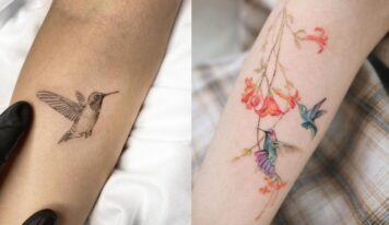 Top 12 Hummingbird Tattoo Design Ideas And Meanings